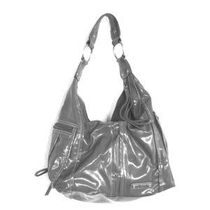 Kenneth Cole grey shoulder purse
